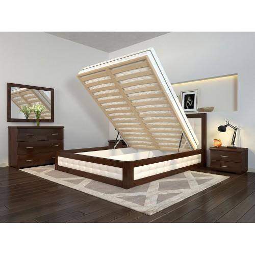 Кровать с механизмом Arbordrev бук Рената М