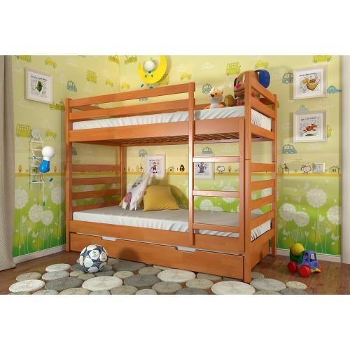 Двухъярусная кровать Arbordrev сосна Рио