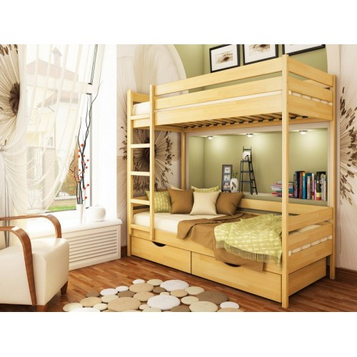 Двухъярусная кровать Эстелла Дуэт щит