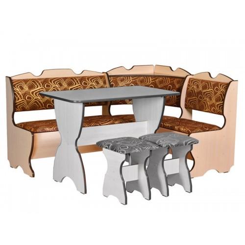 Кухонный уголок Пехотин Комфорт без стола и табуретов