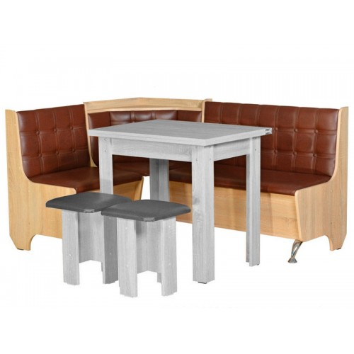 Кухонный уголок Пехотин Маршал без стола и табуретов