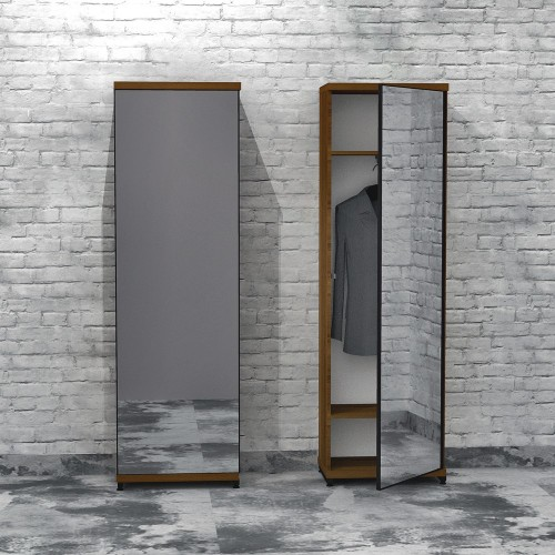 Шкаф с зеркалом FlashNika Loft ПЛ-17 60