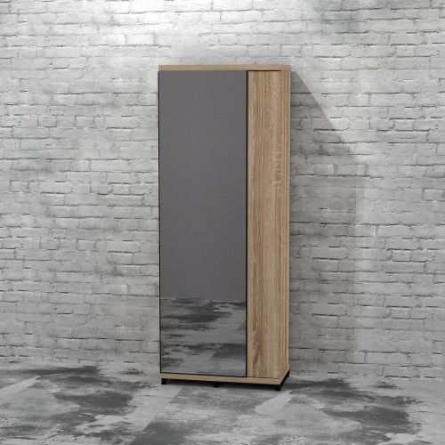 Шкаф с зеркалом FlashNika Loft ПЛ-21 90