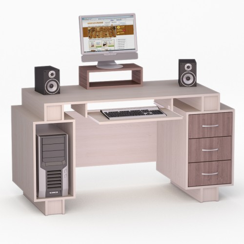 Компьютерный стол FlashNika LED 54