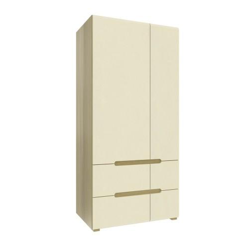 Двухдверный шкаф Fusion E Intarsio