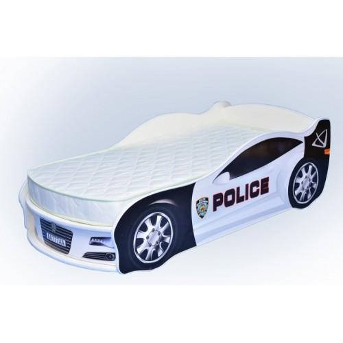 Кровать-машина Mebelkon Полиция с механизмом