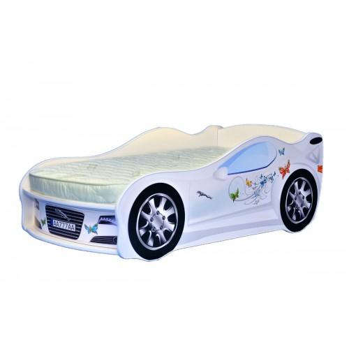 Кровать-машина Mebelkon Jaguar для девочки без ПМ