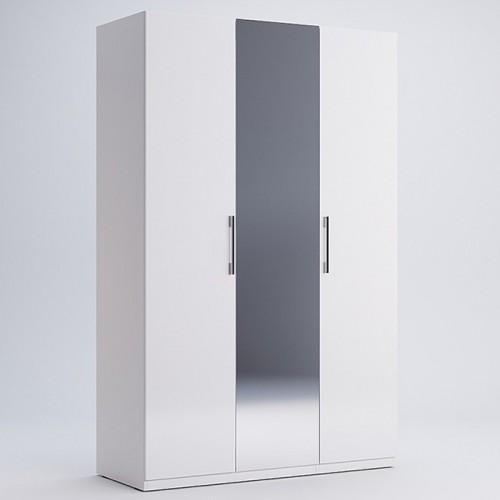 Шкаф с зеркалом Miromark Фемели 3Д