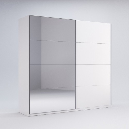 Шкаф-купе Miromark Фемели 1,5м двери глянец/зеркало