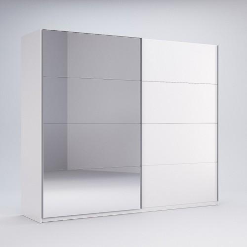 Шкаф-купе Miromark Фемели 2,5м двери глянец/зеркало