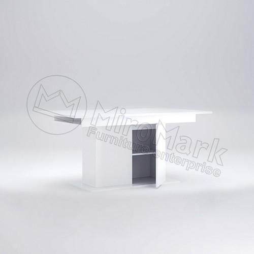 Стол раздвижной с дверьками Miromark Рома 160х95