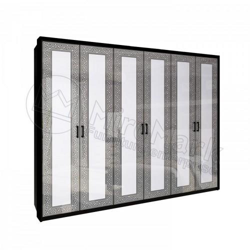 Шкаф без зеркала Miromark Виола 6Д