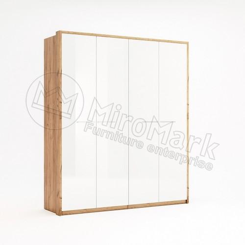 Шкаф Miromark Ники 4Д глянец