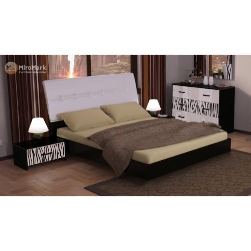 Кровать с мягкой спинкой и механизмом Miromark Терра