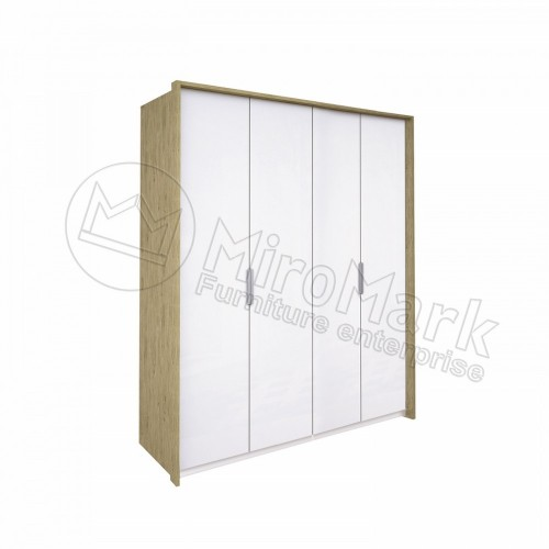 Шкаф без зеркал Miromark Флоренция 4Д