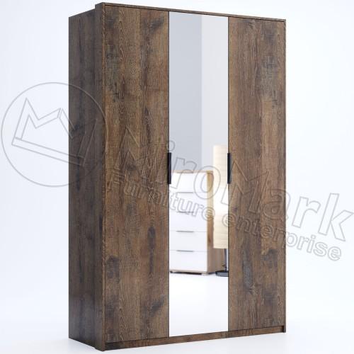 Шкаф Miromark Квадро 3Д с зеркалом
