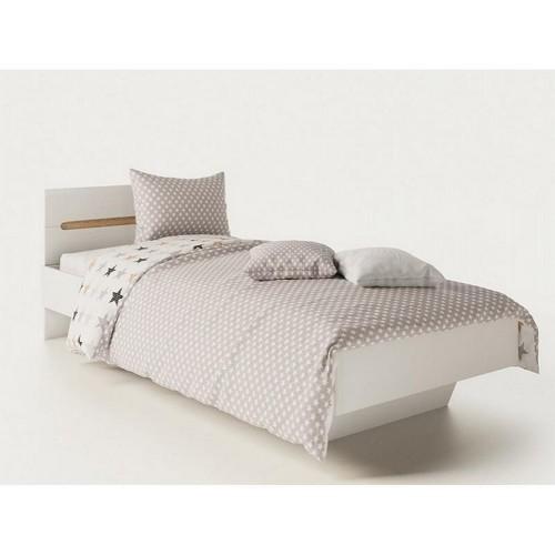 Односпальная кровать Бьянко Світ Меблів