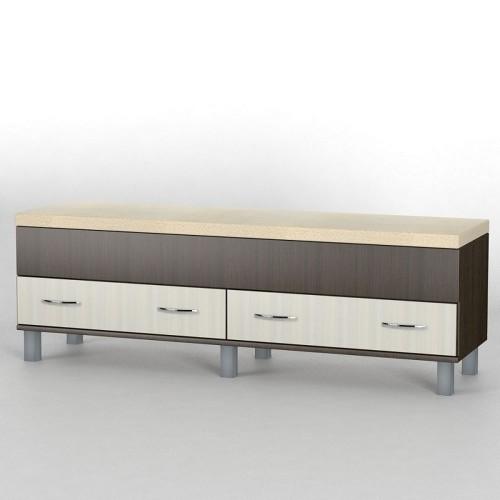 Прикроватный комод КП-100 АКМ ТИСА-мебель