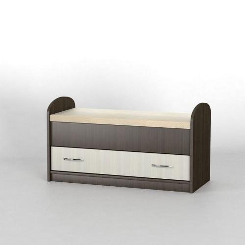 Прикроватный комод КП-102 АКМ ТИСА-мебель