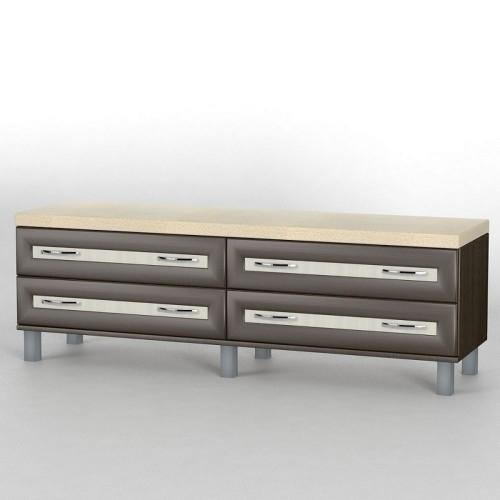 Прикроватный комод КП-105 АКМ ТИСА-мебель