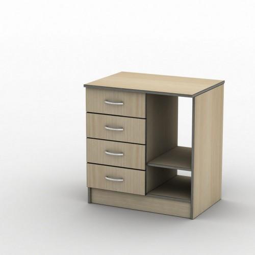 Тумба ТП-3 70x50 Бюджет ТИСА-мебель