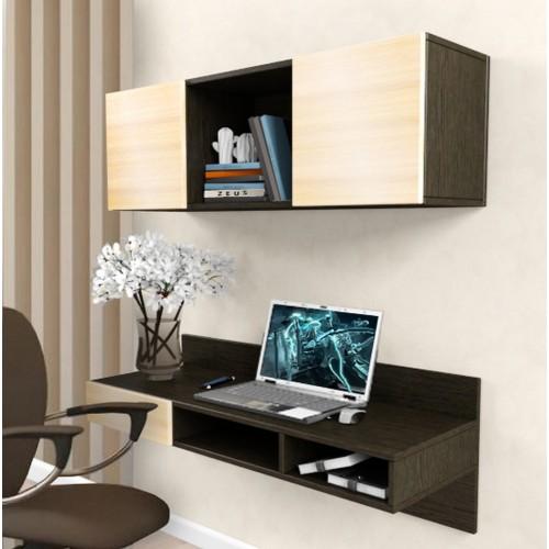 Навесной компьютерный стол AirTable X1 Kit Comfy-Home