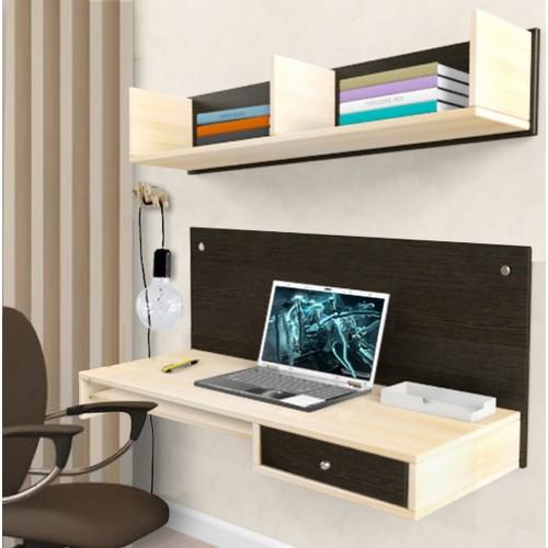 Навесной компьютерный стол AirTable R1 Kit Comfy-Home