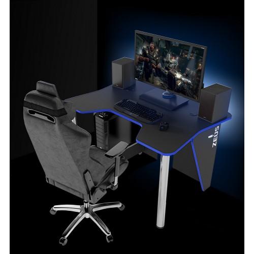 Геймерский игровой стол с LED подсветкой Igrok-3L Zeus