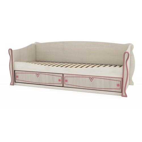 Кровать с ящиками Континент Ева