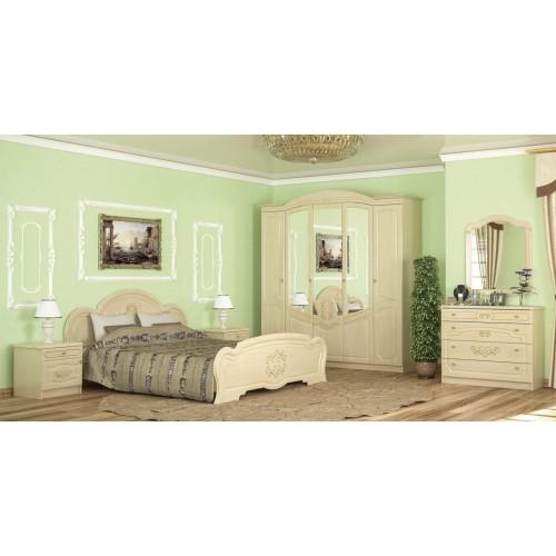 Спальня Бароко 5Д Мебель-Сервис