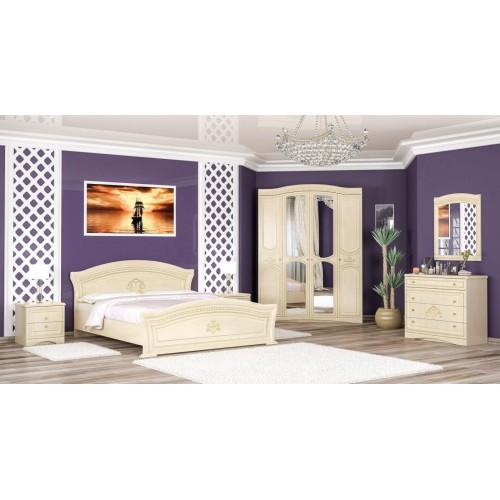 Спальня Милано 4Д Мебель-Сервис