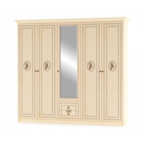 Шкаф Флорис 5Д Мебель-Сервис