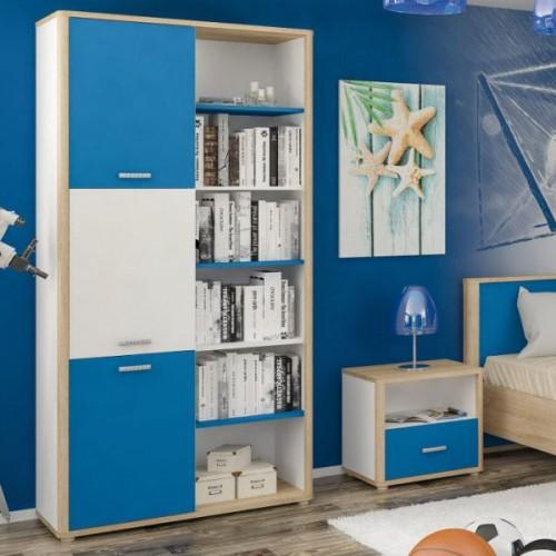 Книжный шкаф Лео Мебель-Сервис