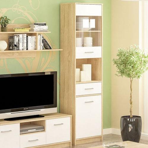Витрина 1Д1В1Ш Типс Мебель-Сервис