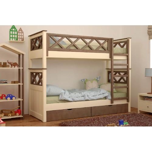 Двухъярусная кровать Мальта MebiGrand