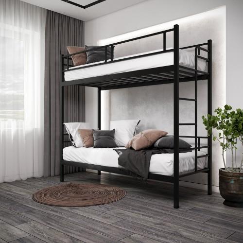 Двухъярусная кровать Дабл Металл-дизайн