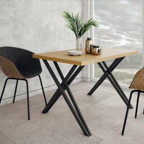 Стол Бруно 120х80 Loft Металл-дизайн