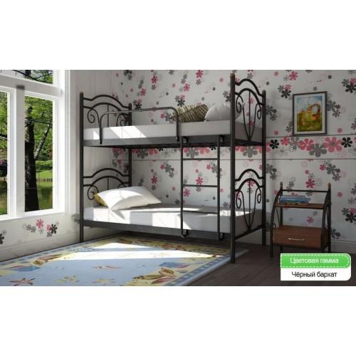 Двухъярусная кровать Диана Металл-дизайн