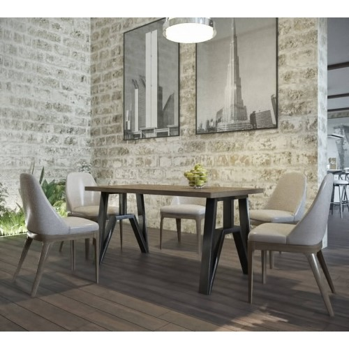 Стол обеденный Прайм 120 Металл-дизайн