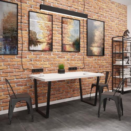 Стол обеденный Бинго лайт 120х75 Металл-дизайн