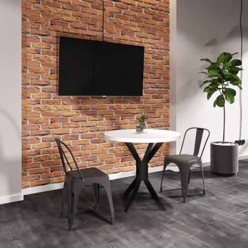 Стол обеденный Фолд D80 Металл-дизайн