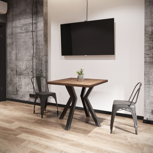 Стол обеденный Свен 80х80 (4 ноги) Металл-дизайн
