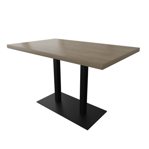 Стол двойной Тренд-1 120х75 Металл-дизайн