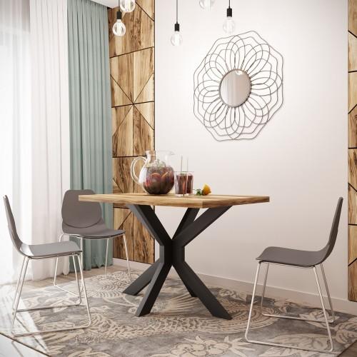 Стол Кросс 120х75 Металл-дизайн