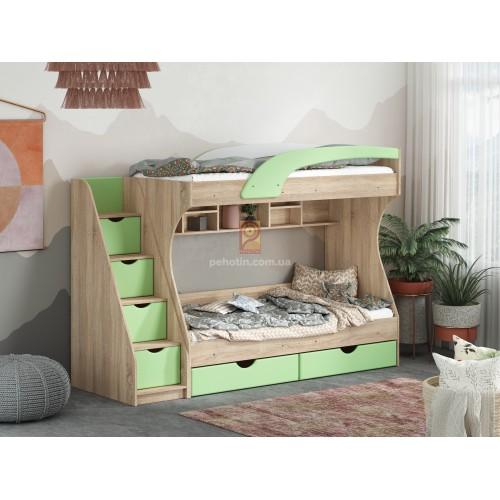 Детская двухъярусная кровать Пехотин Кадет