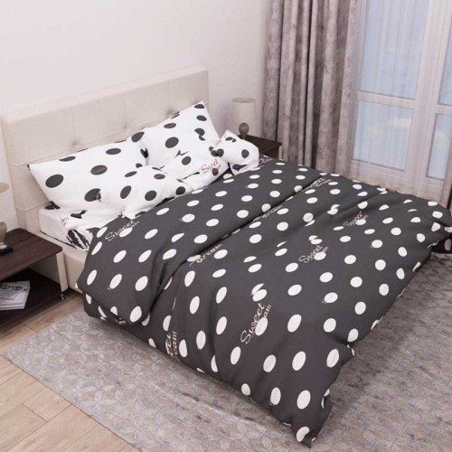 Комплект постельного белья Руно полуторный 4116(А+В) бязь набивная
