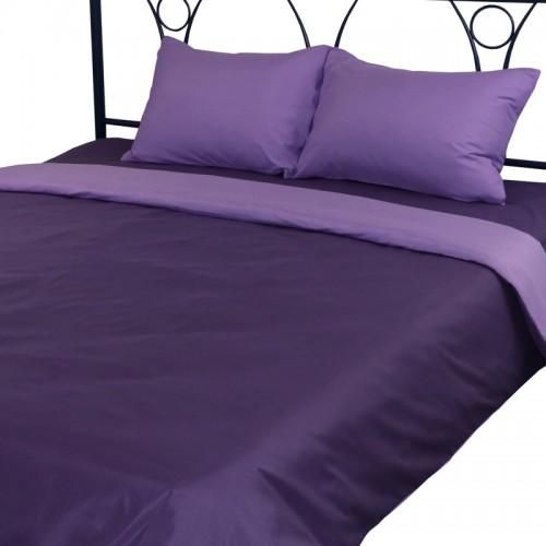 Комплект постельного белья Руно полуторный Violet микрофайбер