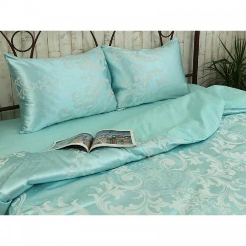 Комплект постельного белья Руно двойной Mint сатин набивной