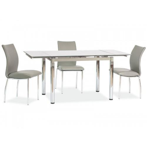 Стол раскладной GD-018 110(170)x74 серый Signal-k