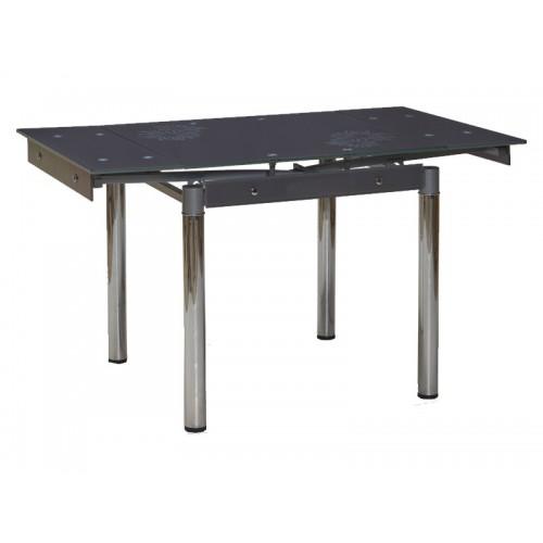 Стол раскладной GD-082 80(131)x80 серый Signal-k